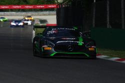#86 Mercedes-AMG Team HTP Motorsport, Mercedes-AMG GT3: Michael Avenatti, Damien Faulkner, Mike Skee