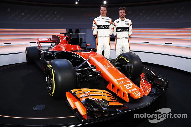 Fernando Alonso, McLaren ve Stoffel Vandoorne, McLaren