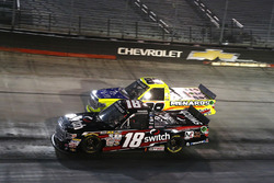 Noah Gragson, Kyle Busch Motorsports Toyota and Matt Crafton, ThorSport Racing Toyota