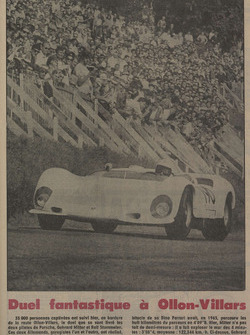 Tribune de Lausanne, article, duel, 1967