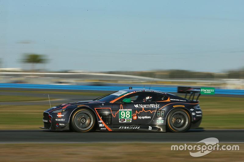 #98 Aston Martin Racing Aston Martin Vantage: Paul Dalla Lana, Mathias Lauda, Pedro Lamy, Marco Sorenson