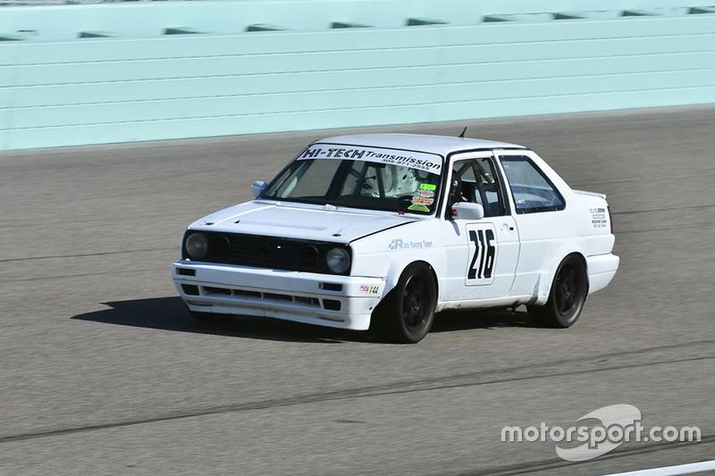 #216 MP4A Volkswagen GLI driven by Tomas Hernandez of Rico Racing