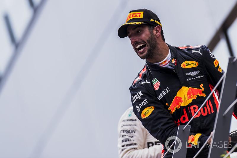 Tercero, Daniel Ricciardo, Red Bull Racing