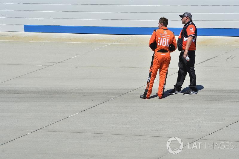 Christopher Bell, Kyle Busch Motorsports, Toyota; Ryan Fugle