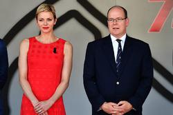 Princess Charlene of Monaco, Charlene Wittstock, and HSH Prince Albert of Monaco