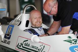 Demonstration eines Williams FW07
