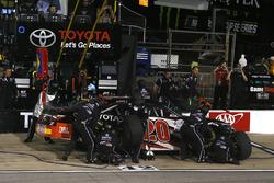 Christopher Bell, Joe Gibbs Racing Toyota pit stop