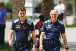 James Key, directeur technique Scuderia Toro Rosso, et Franz Tost, Team Principal, Scuderia Toro Rosso