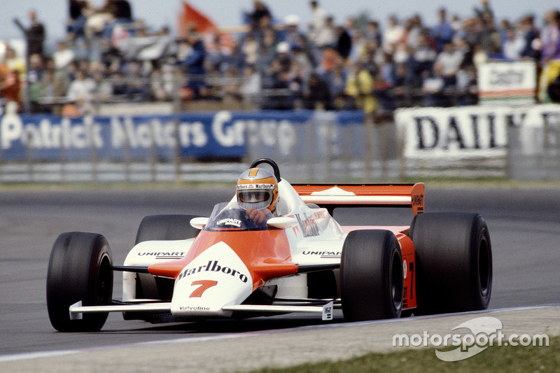 1981-1982: McLaren MP4/1