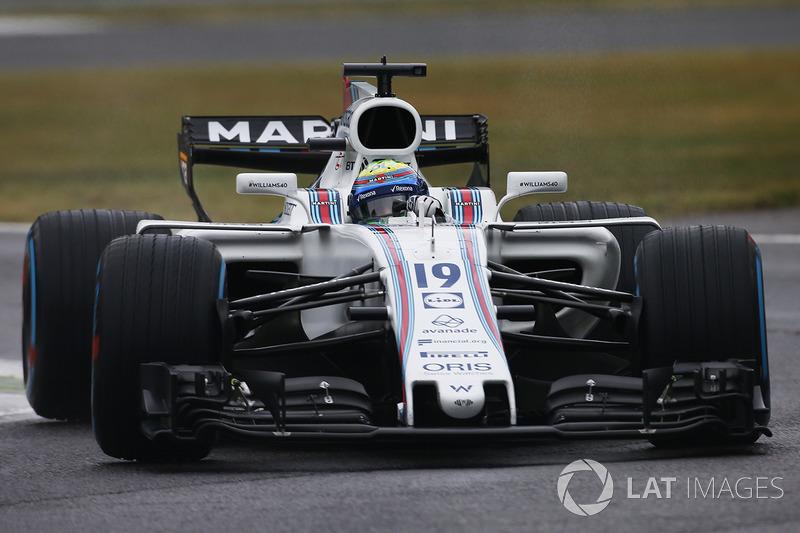 Já Massa foi nono, mas iniciou a prova em Monza da sétima posição do grid.