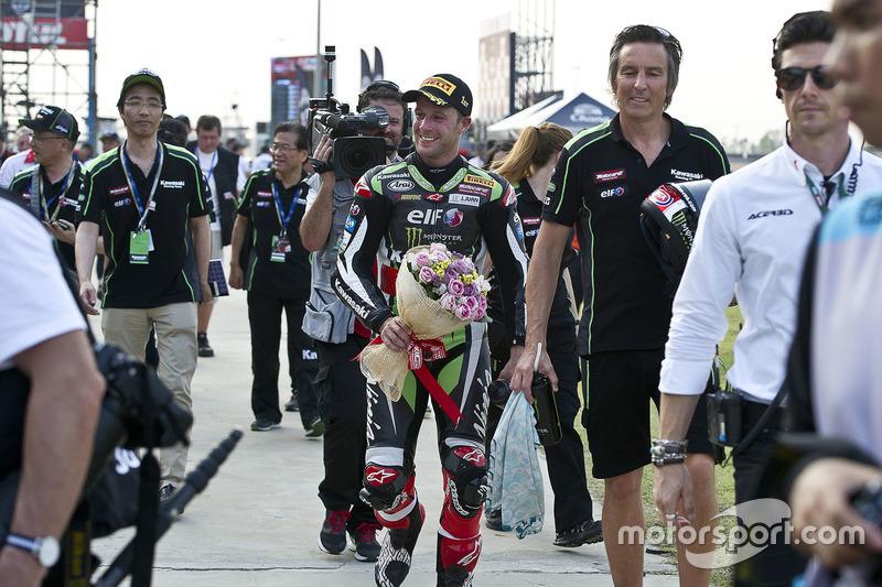 Ganador, Jonathan Rea, Kawasaki Racing