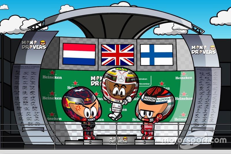 El GP de Brasil de Fórmula 1 2018, por Minidrivers