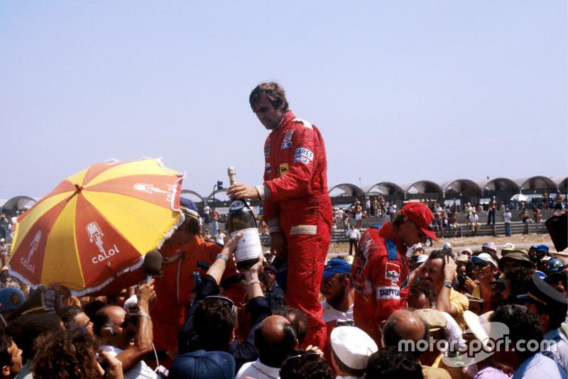 1978. Жакарепагуа. Подіум: 1. Карлос Ройтеманн, Ferrari. 2. Емерсон Фіттіпальді, Copersucar Ford Cosworth. 3. Нікі Лауда, Brabham Alfa Romeo