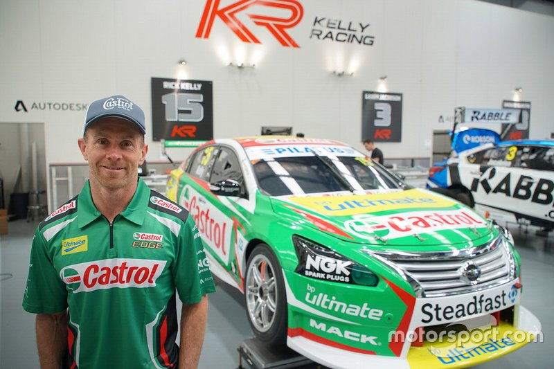 Dale Wood Kelly Racing announcement