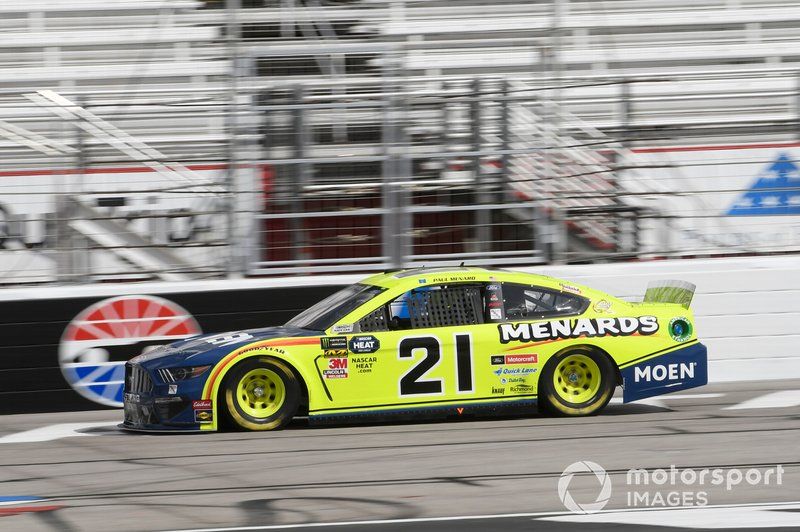 14. Paul Menard, Wood Brothers Racing, Ford Mustang Menards / MOEN