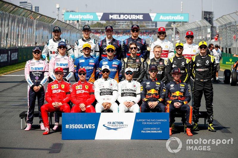 2019 Formula 1 sezonu pilotları