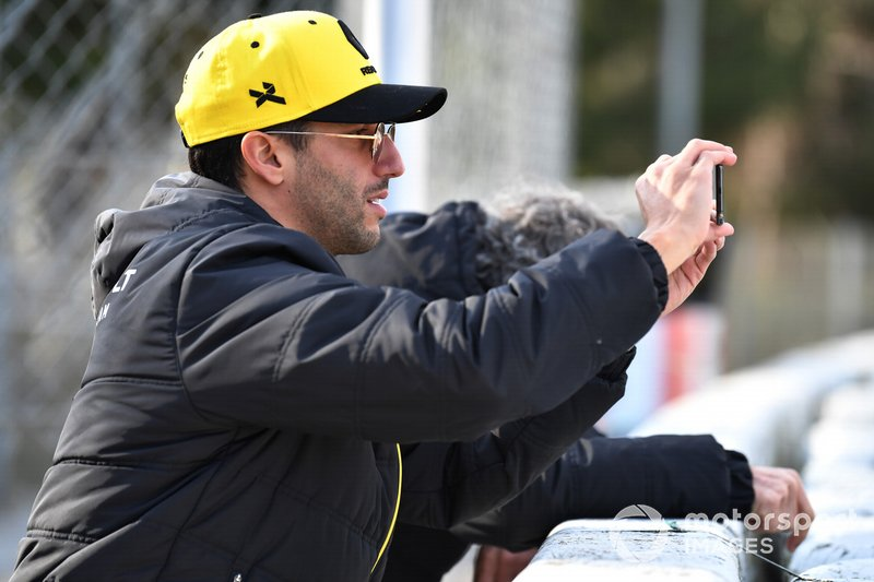 Даніель Ріккардо, Ален Прост, Renault F1 Team