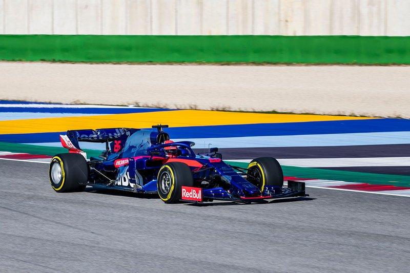 Данііл Квят, Scuderia Toro Rosso STR14