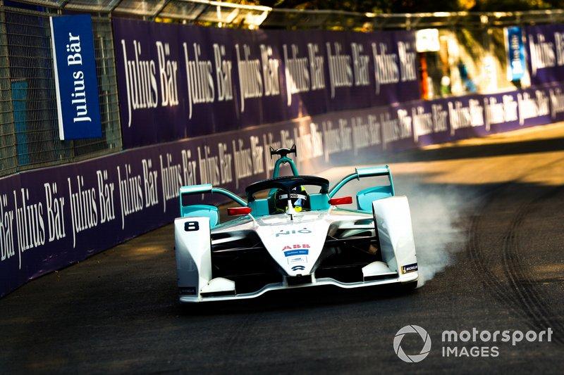 Tom Dillmann, NIO Formula E Team, NIO Sport 004, bloccaggio