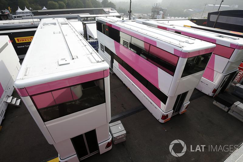 Camiones de Force India F1