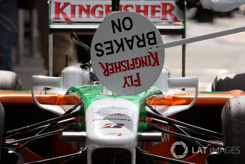 Adrian Sutil, Force India F1 VJM02