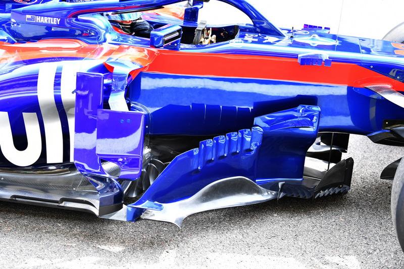 Un déflecteur de la Toro Rosso STR13