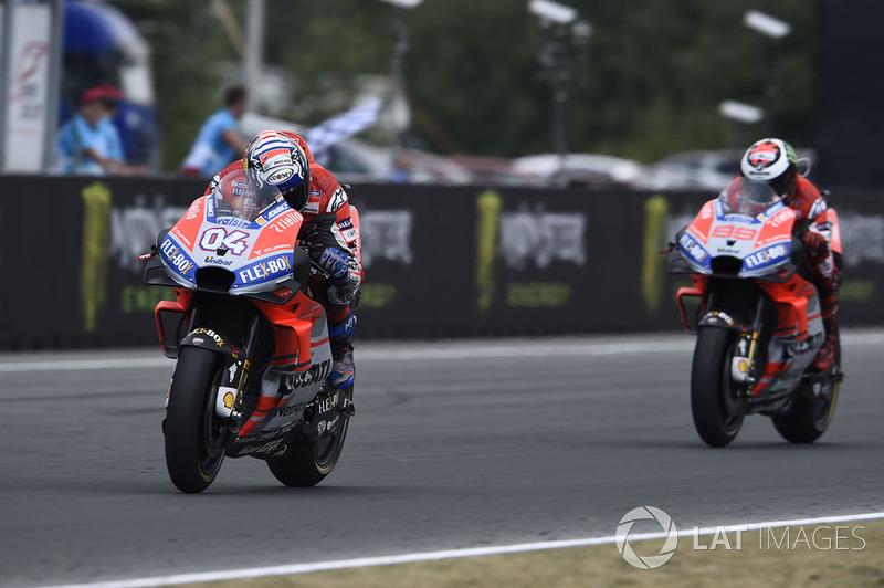 Andrea Dovizioso, Ducati Team, wins