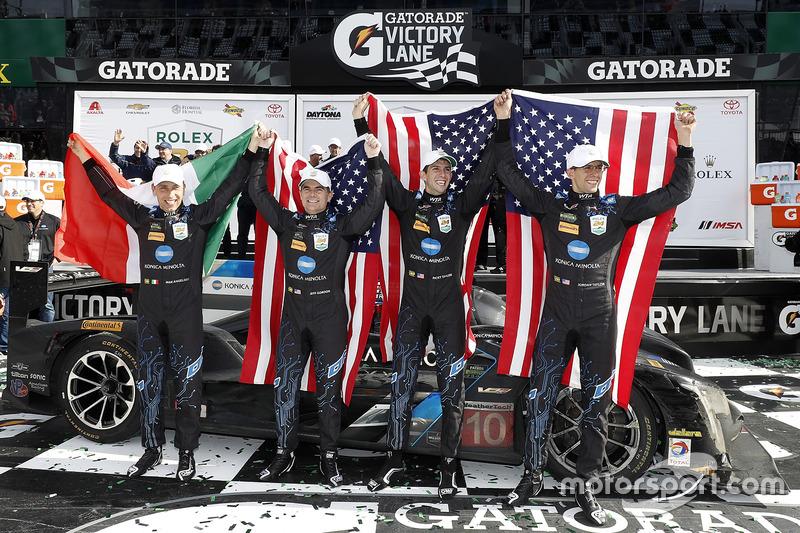 Winnaars #10 Wayne Taylor Racing Cadillac DPi: Ricky Taylor, Jordan Taylor, Max Angelelli, Jeff Gordon