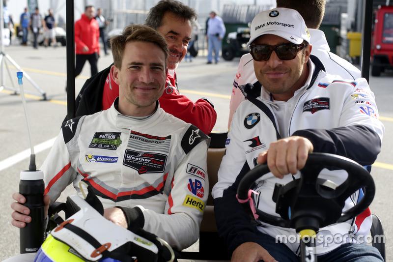 Dirk Werner, Porsche Team North America and Bill Auberlen,  BMW Team RLL