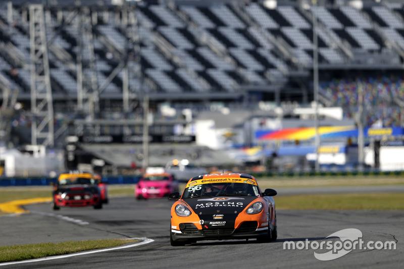 #56 Murillo Racing Porsche Cayman: Jeff Mosing, Eric Foss