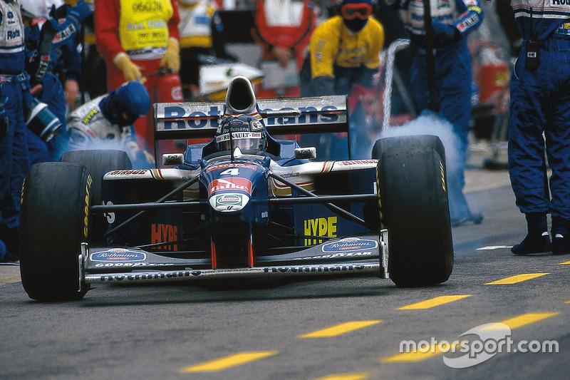 Heinz-Harald Frentzen, Williams FW19 Renault