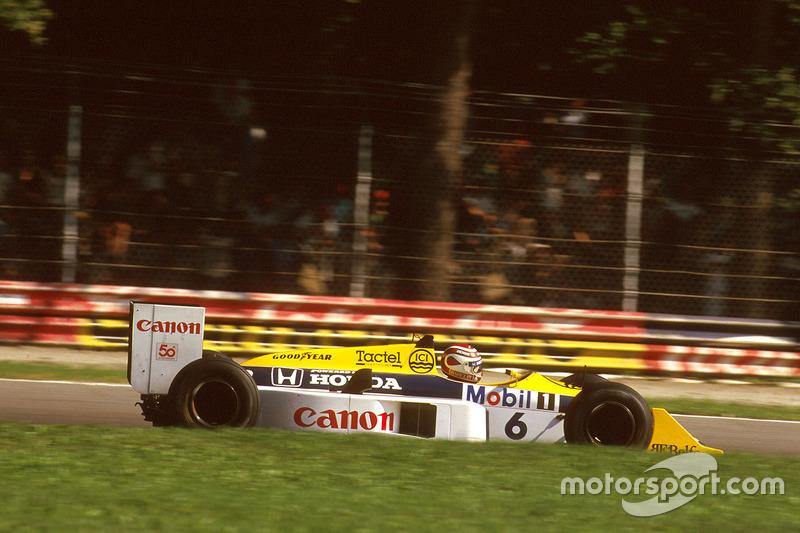 1987 tem um fator semelhante ao campeonato 1983: Piquet venceu menos provas que seu rival direto pela conquista do título mundial. Em 1983, o piloto ganhou três GPs contra quatro de Prost. Em 1987, três contra quatro de Mansell.