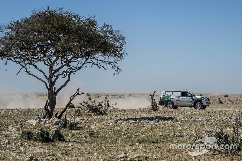 ياسر سويدان، رالي قطر الصحراوي
