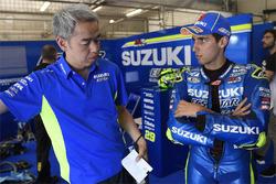 Shinichi Sahara, Team Suzuki MotoGP proje lideri,, Alex Rins, Team Suzuki MotoGP