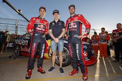 Max Verstappen, Red Bull Racing, Jamie Whincup, Triple Eight Race Engineering Holden, Shane van Gisbergen, Triple Eight Race Engineering Holden