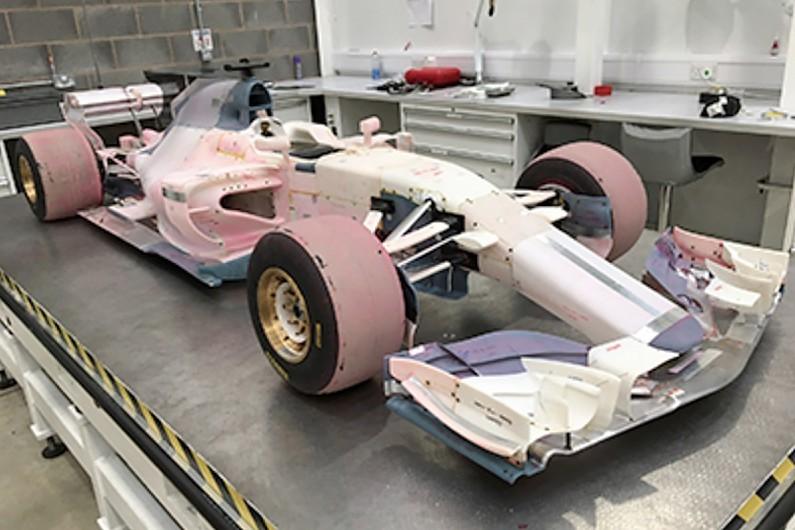 2017 Manor Racing rüzgar tüneli modeli