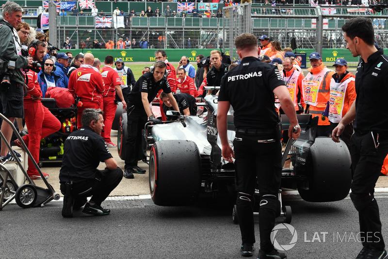 Coche de Lewis Hamilton, Mercedes-Benz F1 W08
