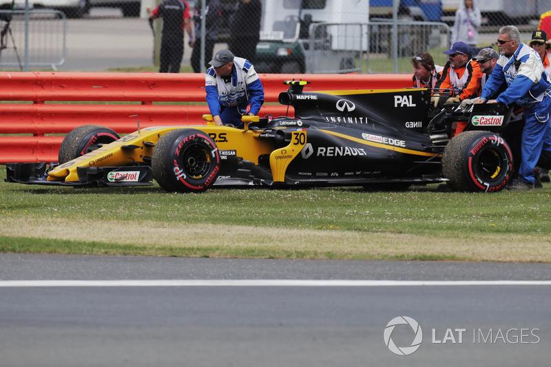 Jolyon Palmer Renault Sport F1 Team RS17 (5 abandonos en 15 carreras)