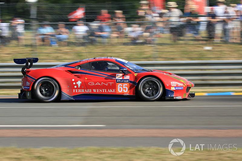 Кристина Нильсен (Scuderia Corsa №65, GTE Am) – 14-е место в GTE Am, 44-е в абсолюте