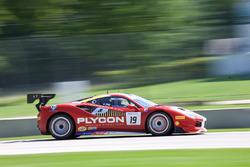 #19 Ferrari of Long Island Ferrari 488: Christopher Cagnazzi