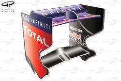 Red Bull RB9 rear wing, Italian GP