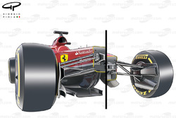 2014 regulation changes (left side 2013 vs 2014 right side as comparison for chassis heights)
