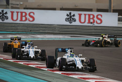 Felipe Massa en Valtteri Bottas, Williams FW38