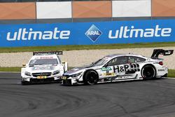Crash, Paul Di Resta, Mercedes-AMG Team HWA, Mercedes-AMG C63 DTM et Tom Blomqvist, BMW Team RBM, BMW M4 DTM