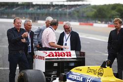Martin Brundle, Riccardo Patrese, Damon Hill, Nigel Mansell, Keke Rosberg, Nico Rosberg