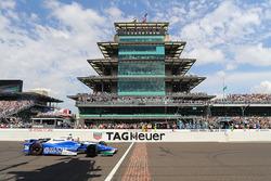 Takuma Sato, Andretti Autosport Honda takes the win