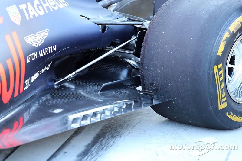 Red Bull Racing RB13 detalle de piso
