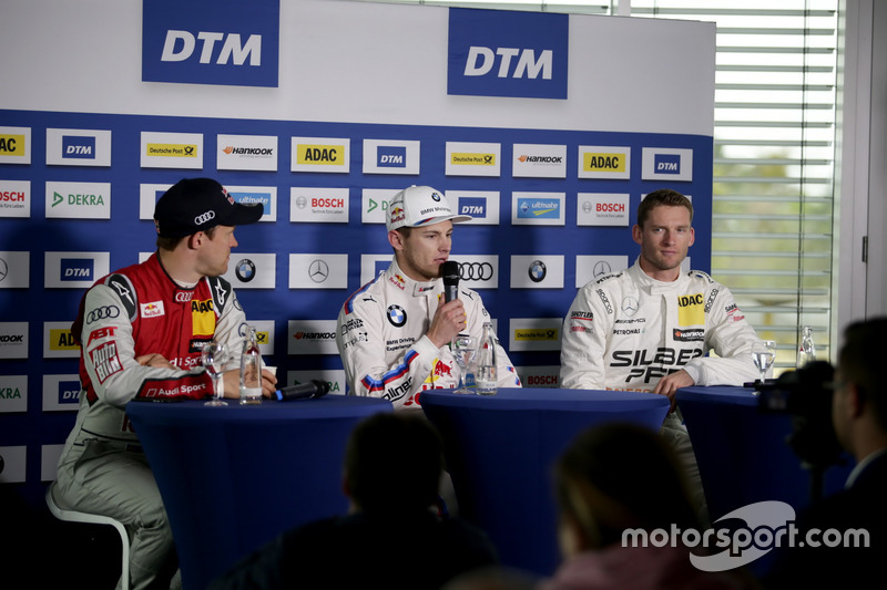 Mattias Ekström, Audi Sport Team Abt Sportsline, Audi A5 DTM; Marco Wittmann, BMW Team RMG, BMW M4 D