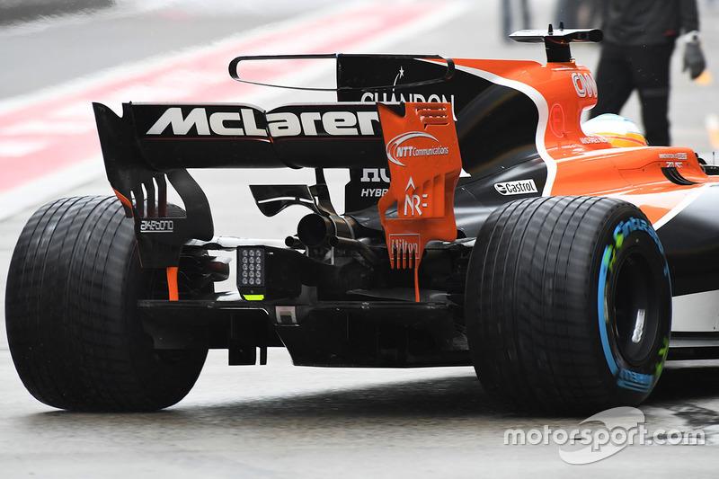 McLaren MCL32: T-Flügel