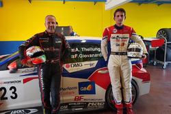 Fabrizio Giovanardi e Alessandro Thellung, SEAT Leon TCR, BF Motorsport